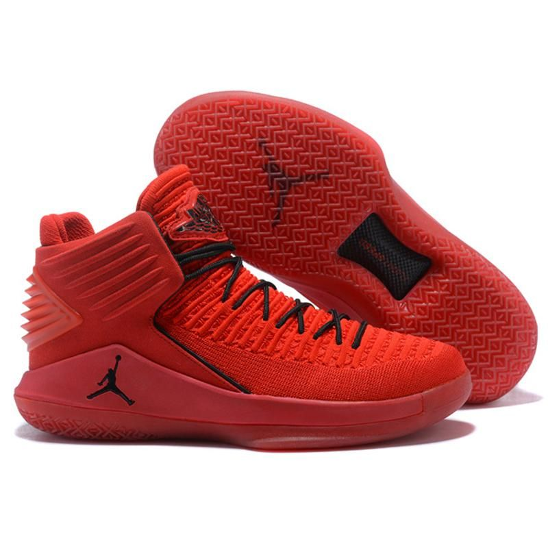 best sneakers ac941 4d2c0 Jordan Air Retro 32 Men Basketball shoes Rosso Corsa Crack Flights Speed  Athletic Outdoor Sport Sneakers 41-46