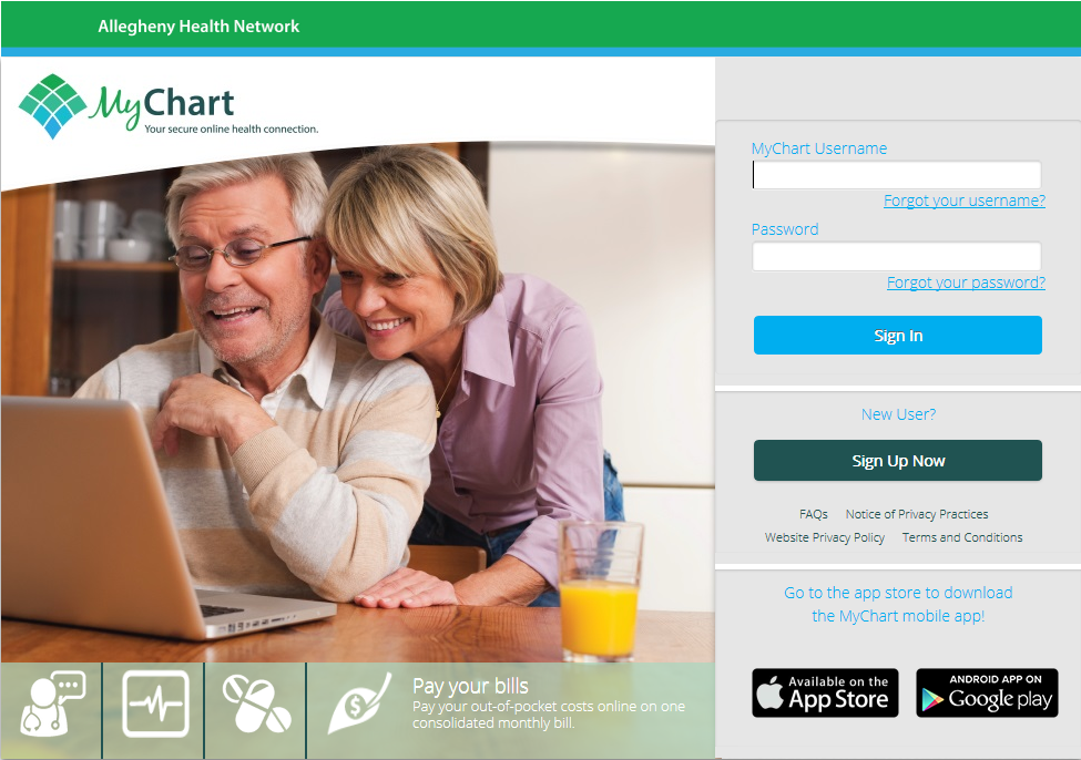 MyChart Login Page (With images) Login page, Login