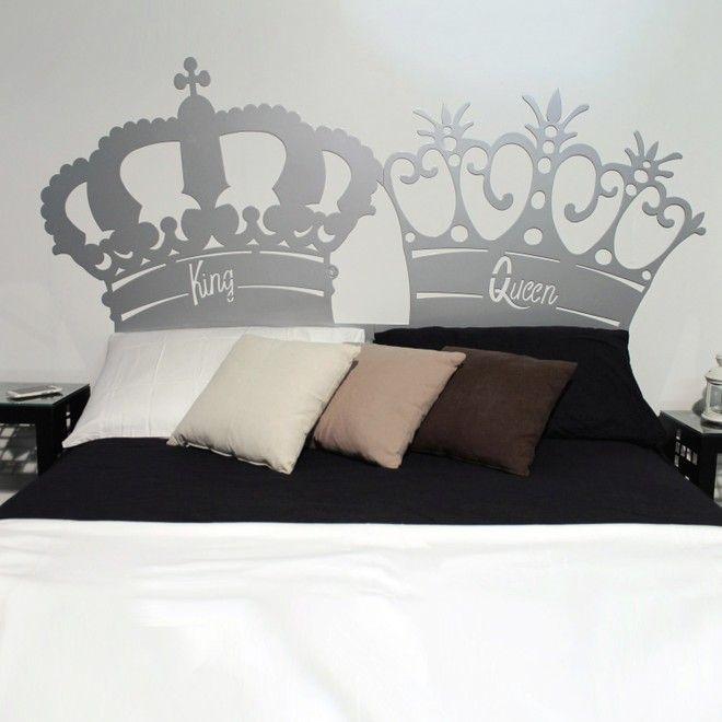 Testate letto testiere per letto matrimoniale dal design moderno realizzato in metallo con - Testate letto matrimoniale ...