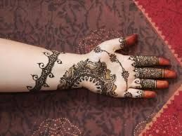 Front Side Attractive Front Side Mehndi Designs For Kids