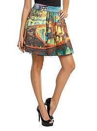 The Book Of Life Land Of The Remembered Circle Skirt