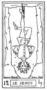 Tarot Card Cross-reference--12. The Hanged Man