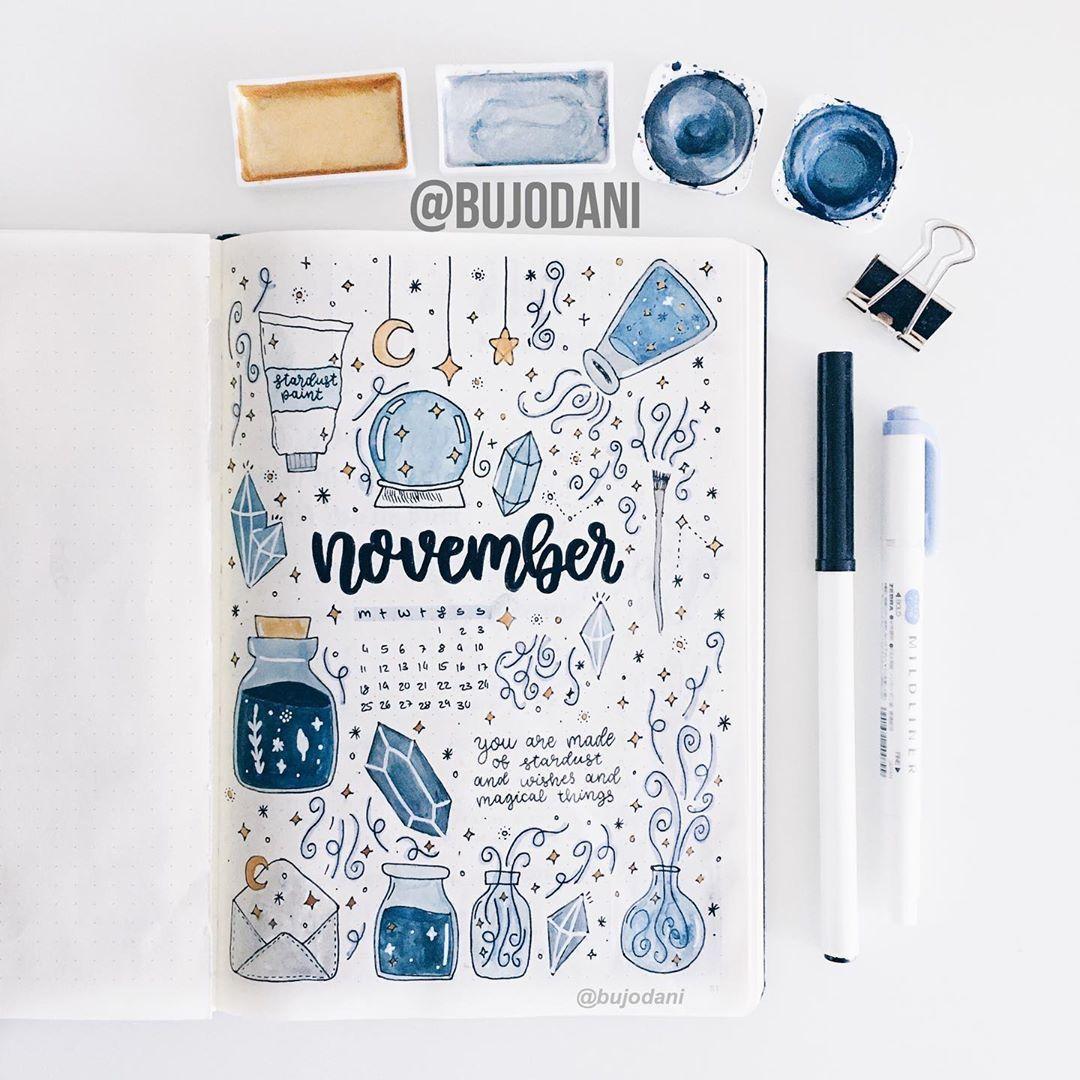 34 November Bullet Journal Ideas For Your Bujo - T