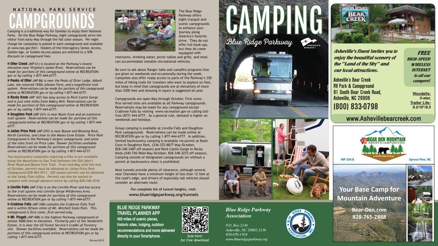 Camping Blue Ridge Parkway