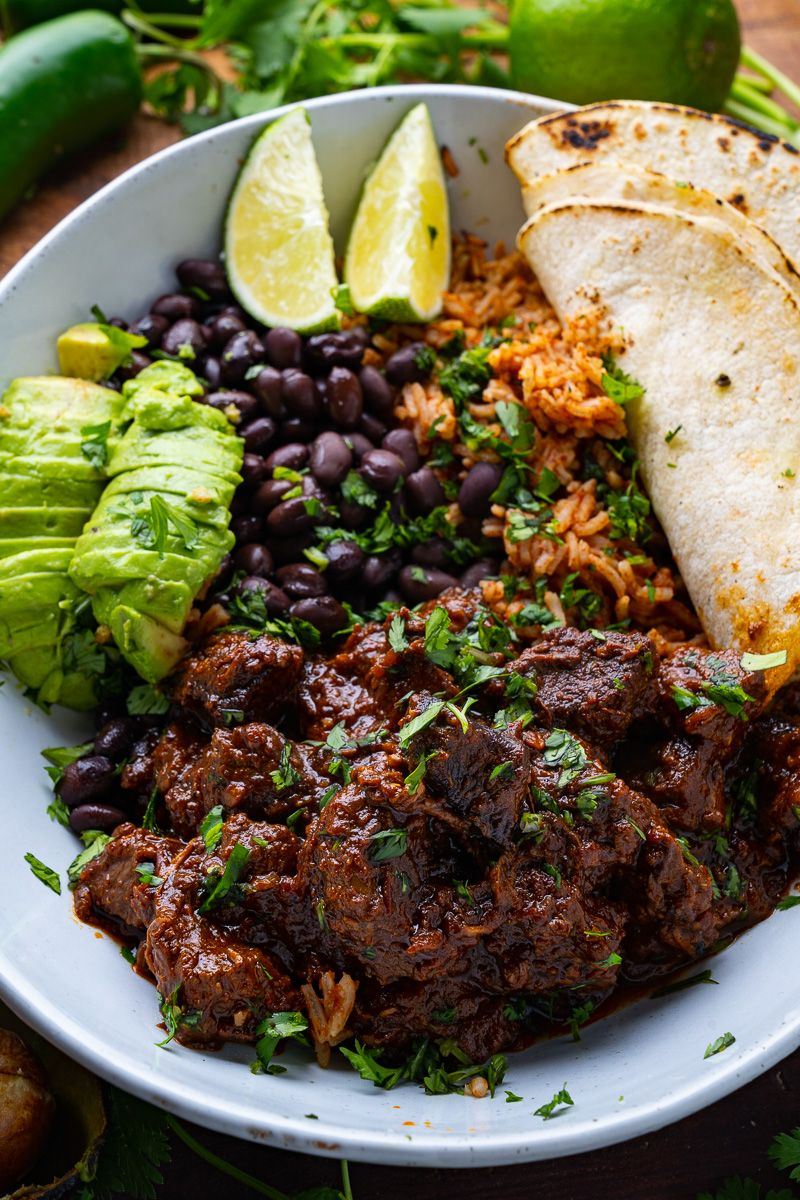 Carne Guisada Braised Beef Recipe Braised Beef Veal Recipes Beef Recipes
