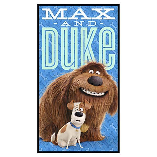 Secret Life Of Pets Max And Duke Panel Mascotas La Vida Secreta