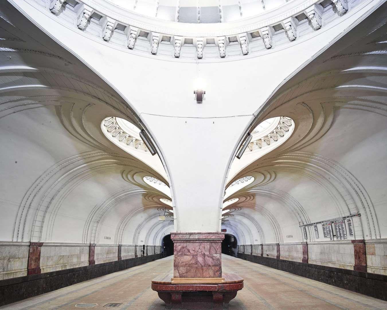 Sokol Metro Station Moscow Russia - David Burdeny/REX/Shutterstock