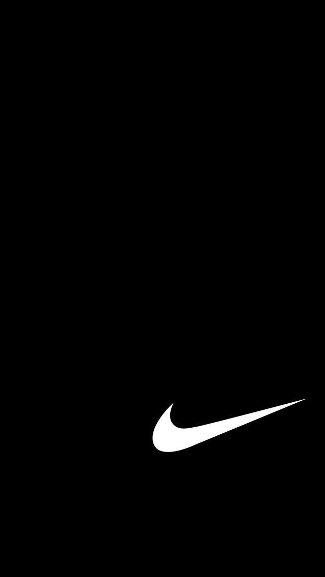 Logo Black Nike Brands Nike Black Logo Posters