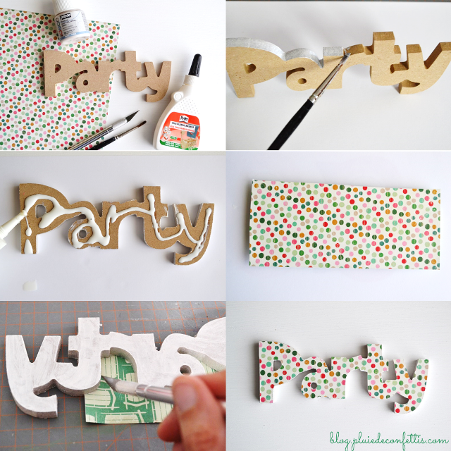 C mo decorar letras de madera buscar con google diy - Letras de madera para decorar ...
