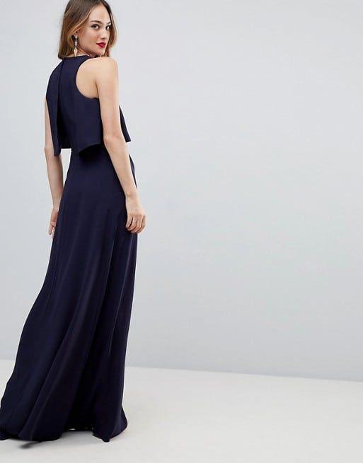 05dc5c13931b formal navy blue wedding guest dress less than 100 dollars