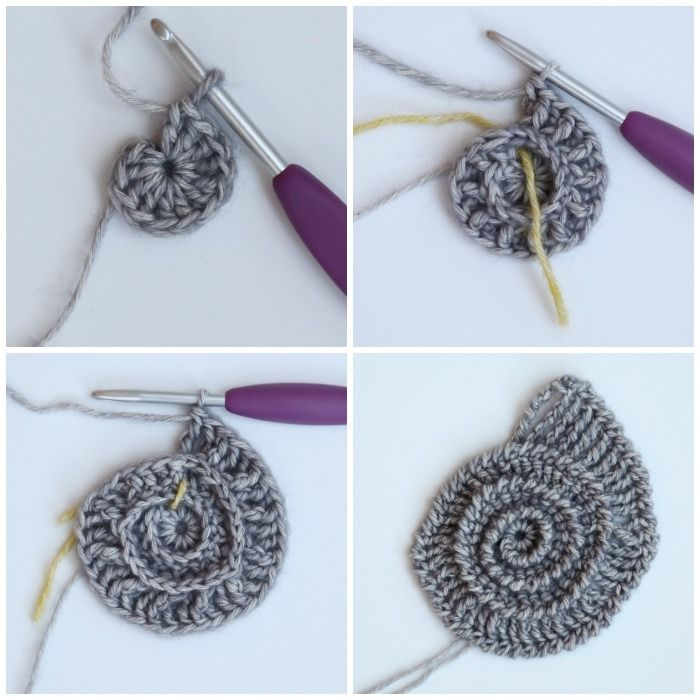 Ammonite Crochet Hook Roll Pattern #crochethooks