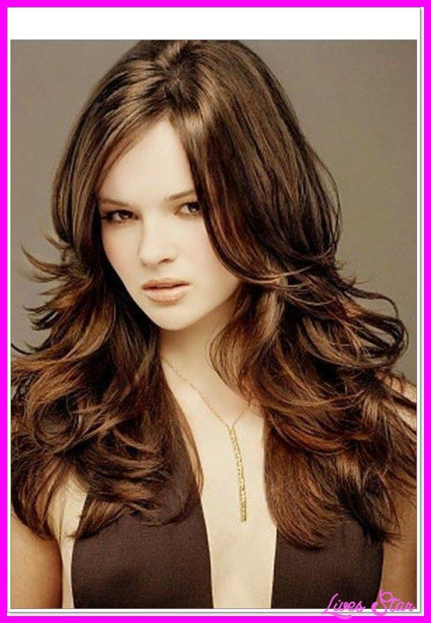 Nice Medium Length Layered Haircut Round Face Haircuts For Long Hair With Layers Thick Hair Styles Long Thick Hair