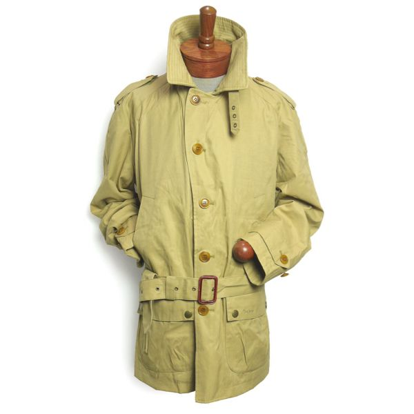 Barbour Cromarty Coat バブアー シングルトレンチコート【$449】 [019]
