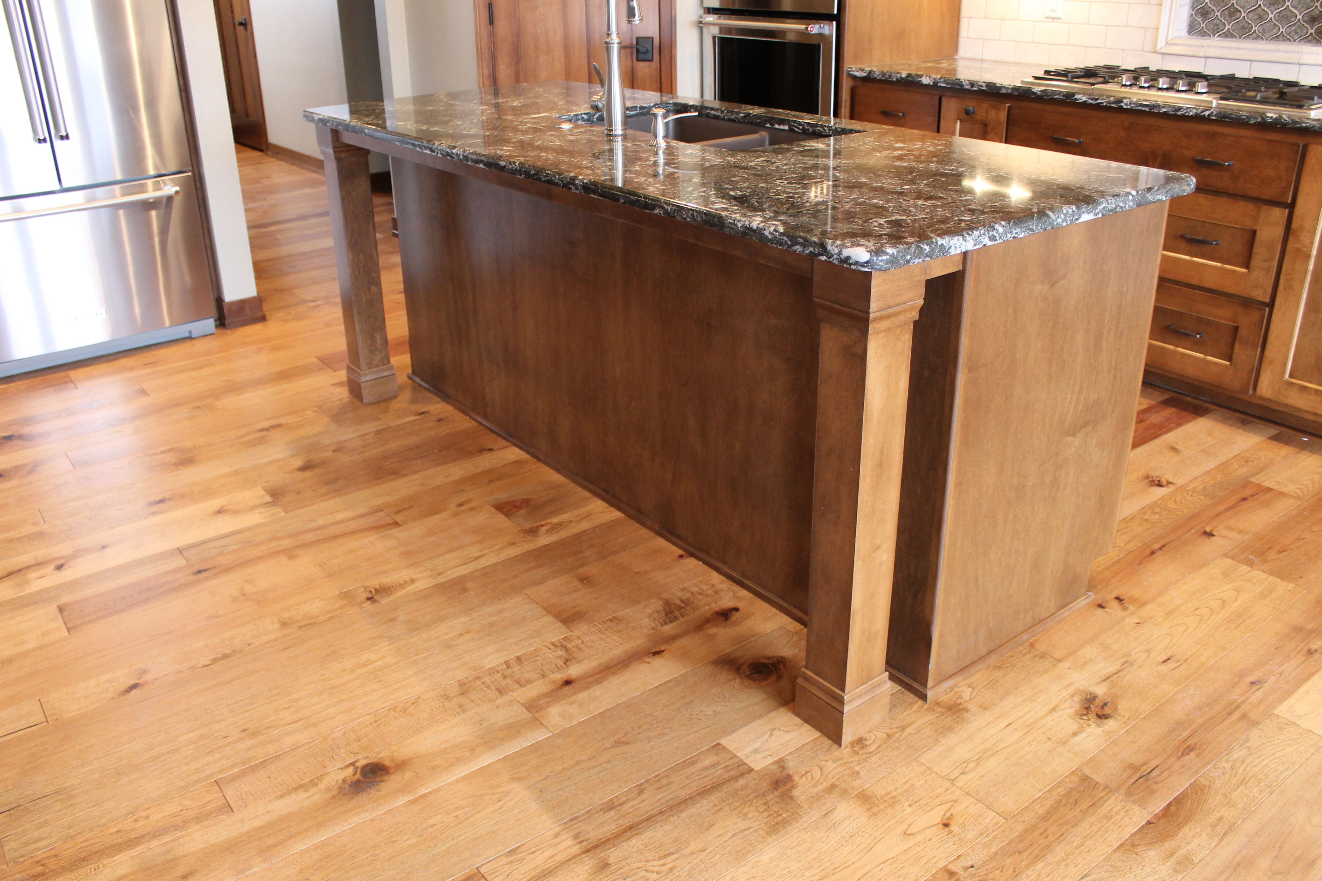 Image result for wooden kitchen island legs island favs pinterest wooden kitchen and kitchens
