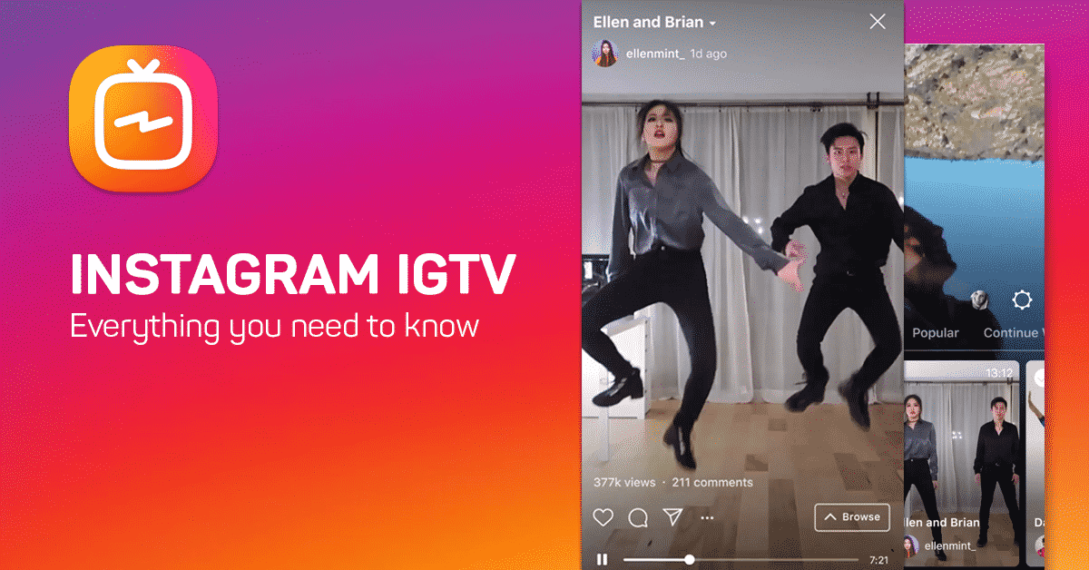 How To Easily Upload Long Videos On Instagram Using Igtv App The Tech Journal Instagram Live Instagram Tv Online Streaming