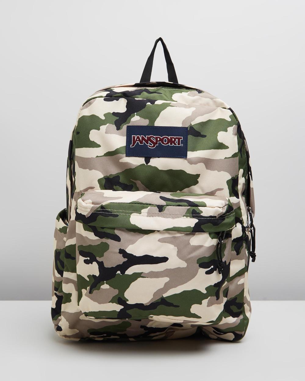 JanSport Backpack Camo Brand New