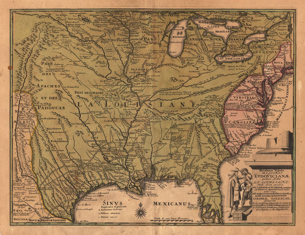 Image Detail For Antique Old Rare And Historic Maps Prints Of - Historic maps louisiana