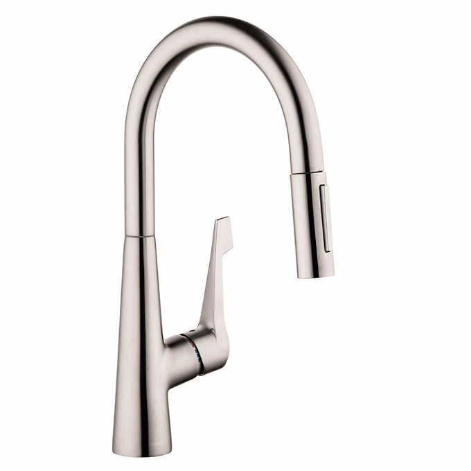 Hansgrohe Talis M Pull Down Kitchen Faucet   Interior Design ...