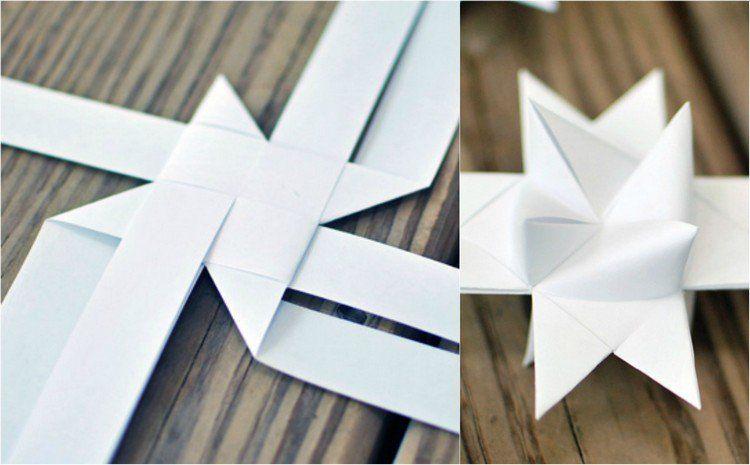 deco noel origami 3d