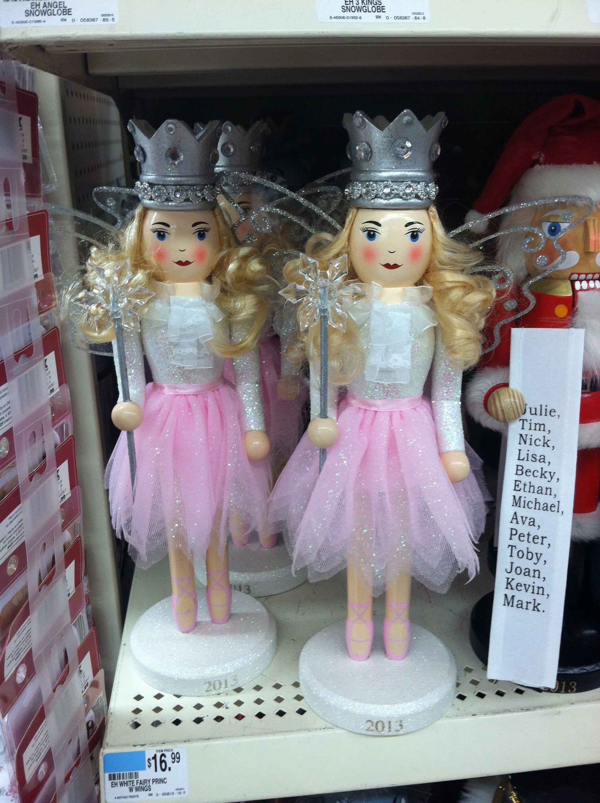 Fairy princess nutcracker!