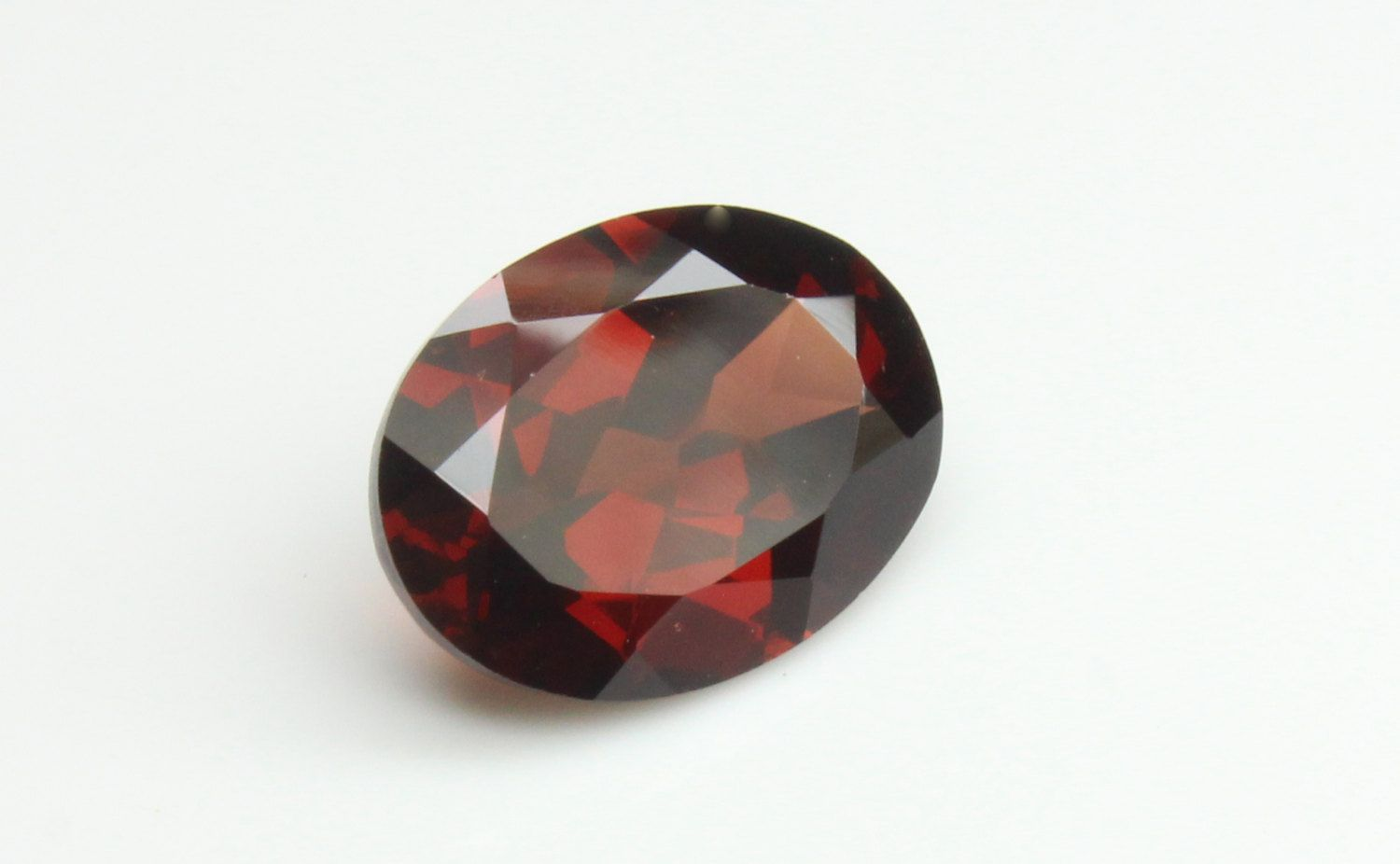 Stunning 5 Ct Natural Unheated Red Garnet Oval Cut by ArkenGems on Etsy