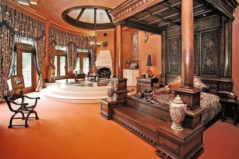 Now This Is A Bedroom Fit For A Queen     Me! But If You Think This Is Over  The Top, Check The Rest Of The House ...