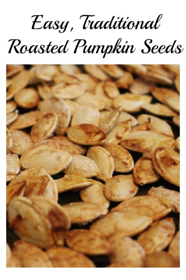 Roasted Pumpkin Seeds #pumpkinseedsrecipe