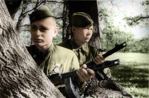 Soviet soldier's in Stalingrad 1942