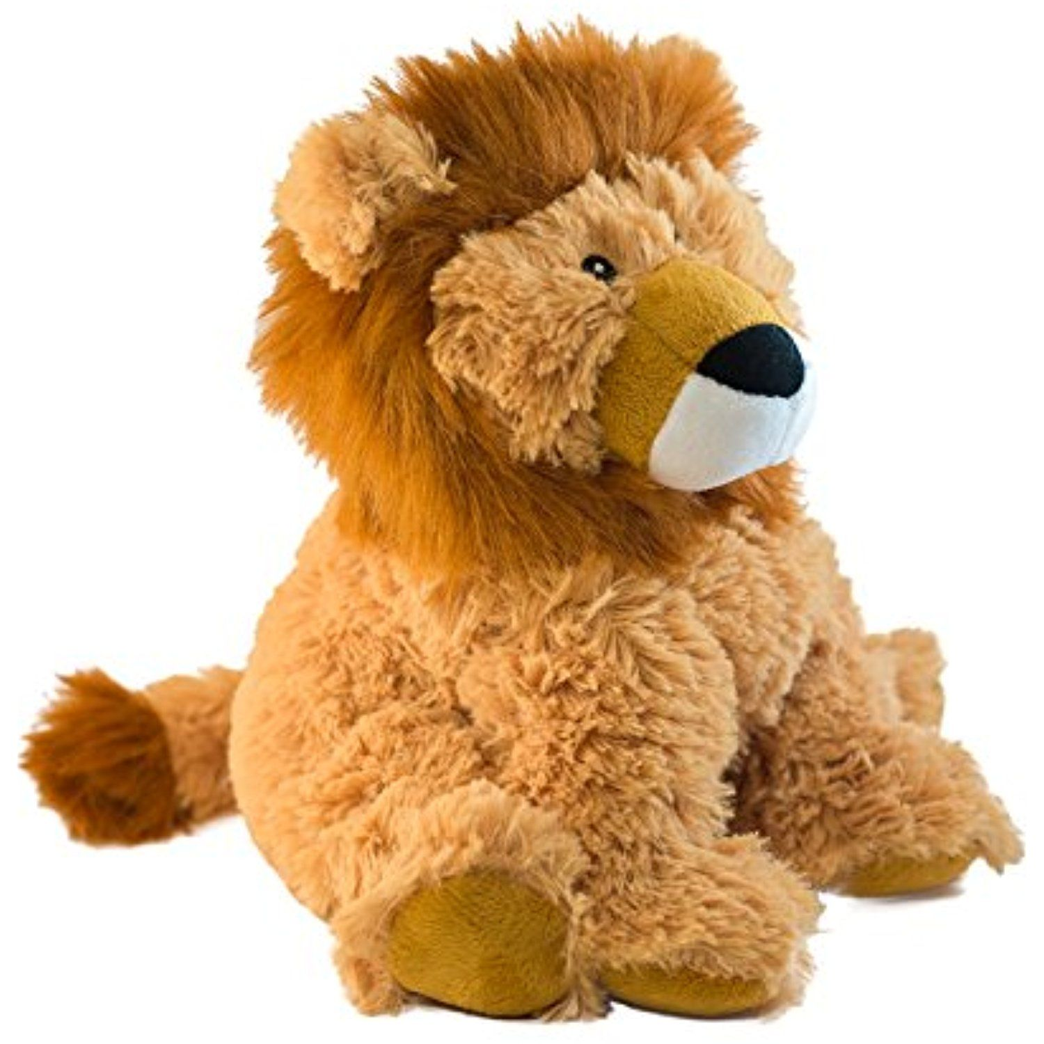Intelex Cozy Microwavable Heatable Plush, Lion ** See this