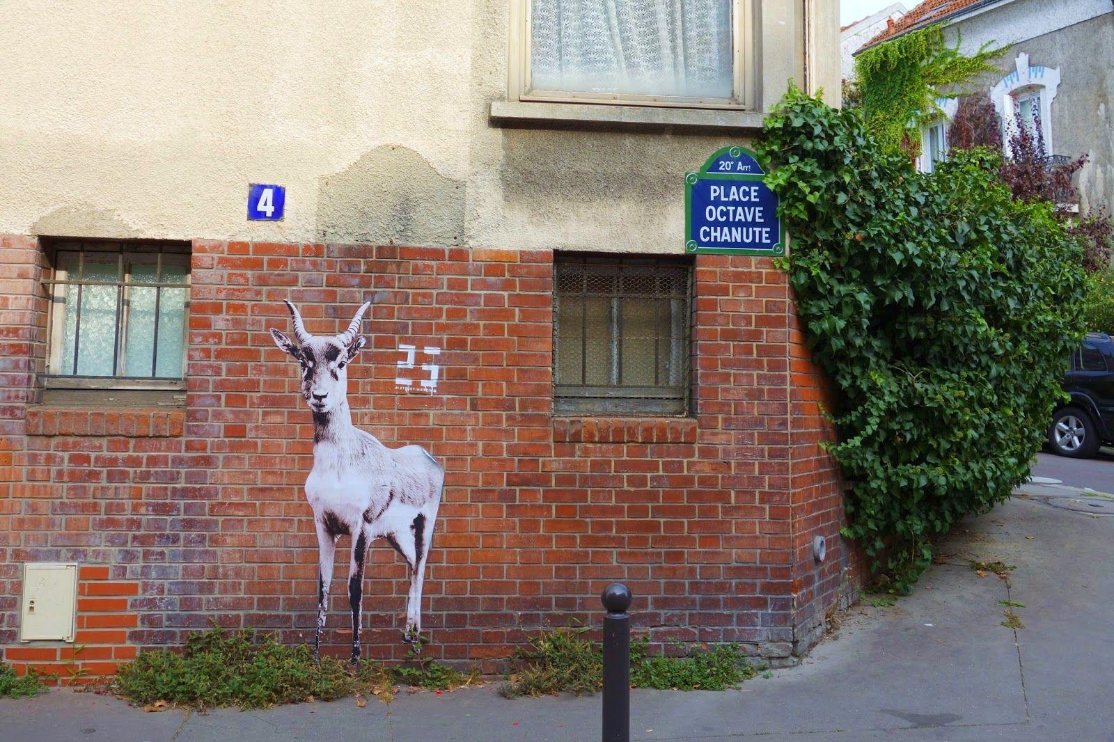 Sunday Street Art : Let's be vingt-cinq - place Octave Chanute - Paris 20   ParisianShoeGals
