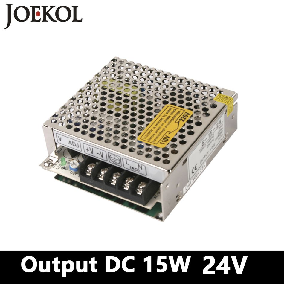 Mini Ac Dc Converter Switching Power Supply 15w 24v 07a Single Regulated 220vac To 24vdc Using Voltage Regulator Output For Led