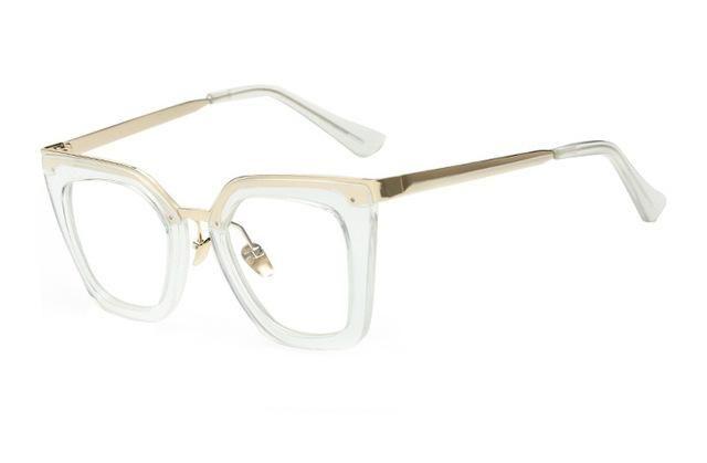 8cc0f358719e DRESSUUP 2016 Mix Rose Gold Glasses Frame Women Eyeglasses Optical Ladies  Clear Lens Fashion Frames Spectacles