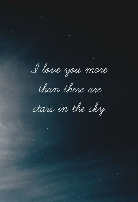Stars Night Sky Love Quote Quotes Quotes Love Quotes Quotes