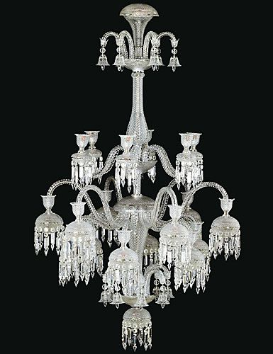 Baccarat Solstice Comete The Solstice Comete Chandelier Is A
