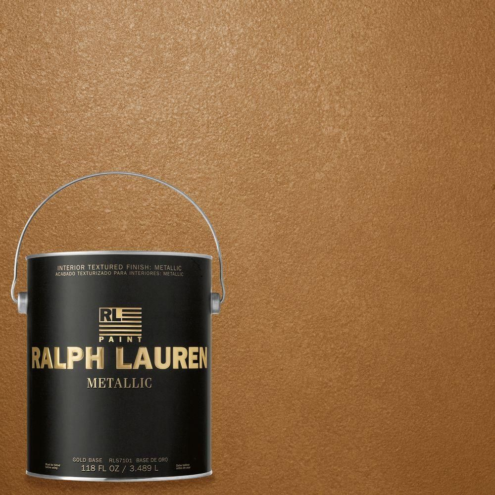 Good Burnished Copper Gold Metallic Specialty Finish Interior Paint ME139 At The  Home Depot