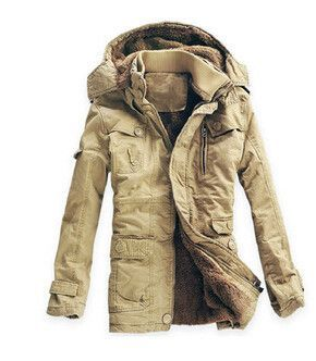 Winter Cotton Padded Outdoor Jacket