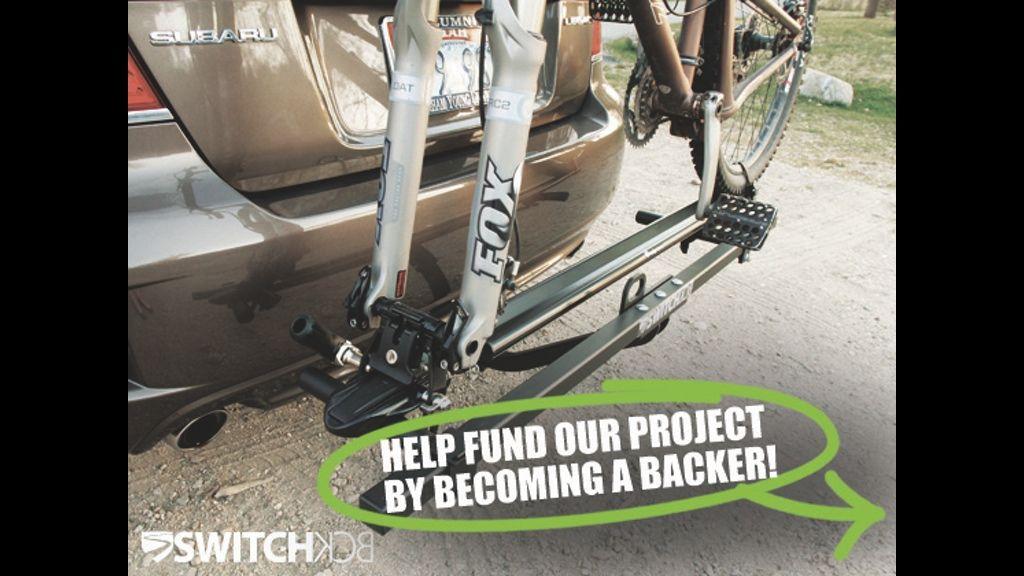 SWITCHbck Bike Rack Bike rack, Bike, Rack