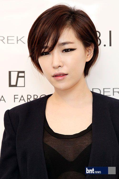 ga in short hair - Google Search   Kpop short hair, Pixie haircut, Short hair styles