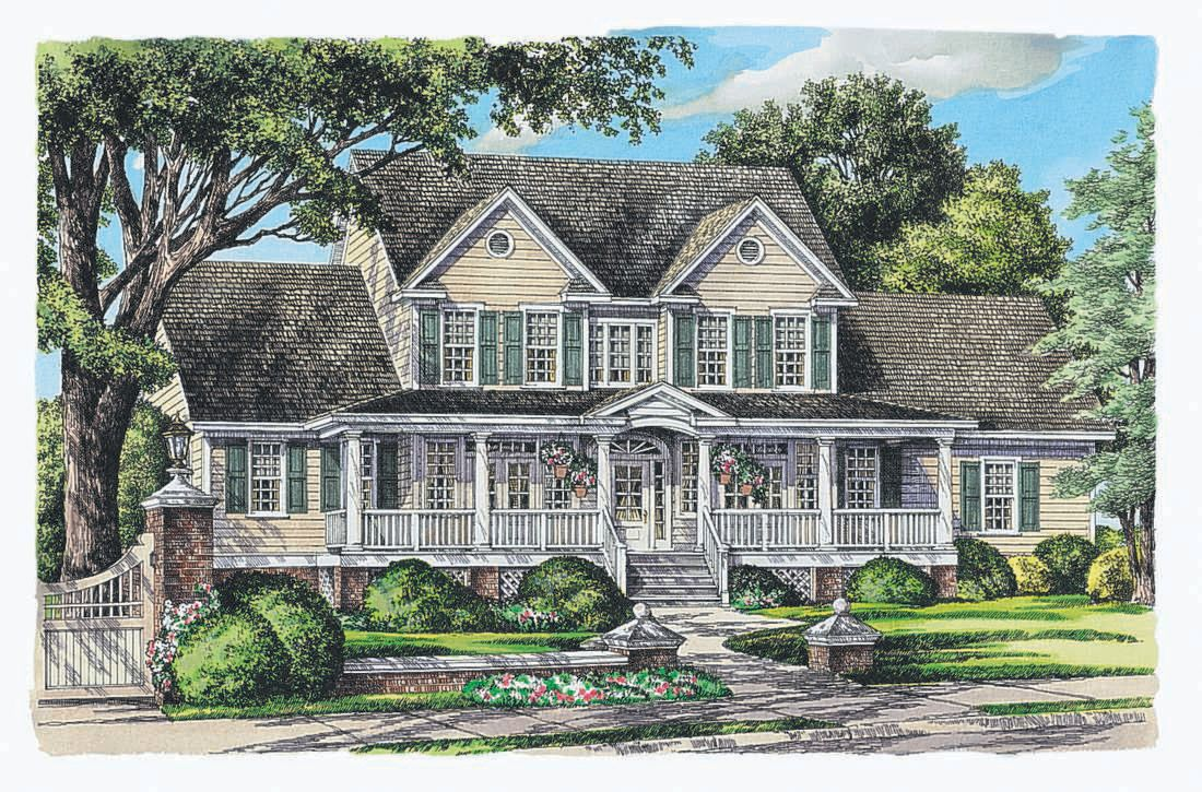 The Southerland House Plan