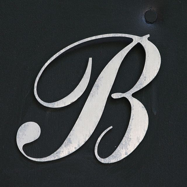 Letter B Lettering Typography Crafts Printable Letters Lettering