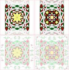 Risultati immagini per mosaici semplici geometrici