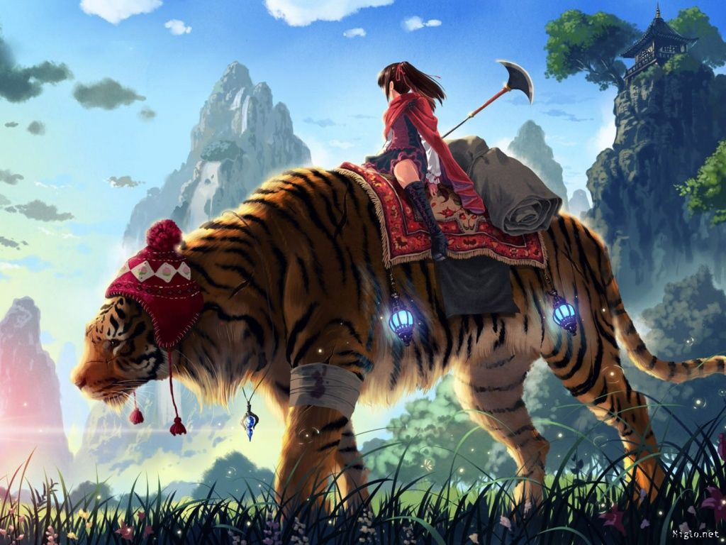 Fond D Ecran Gratuit Hd Anime Wallpapers Tiger Wallpaper Anime Wallpaper
