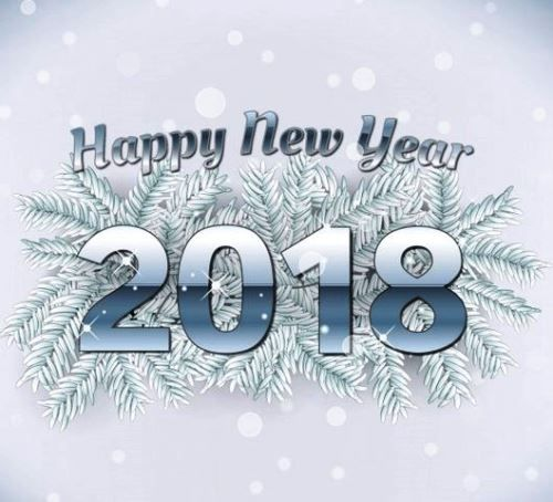 Happy new year 2018 greeting card to wish friends family. Your ...