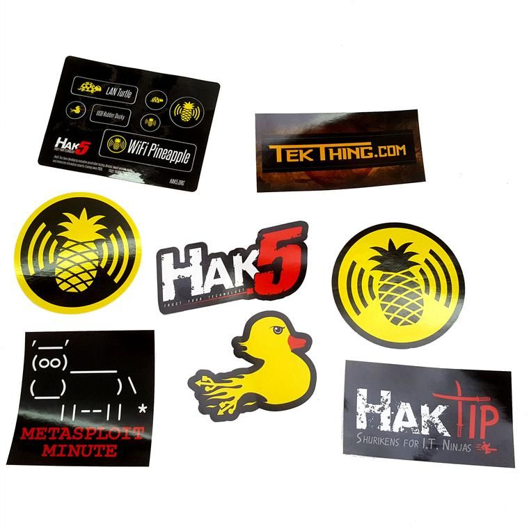 Hak5 Stickers | Possible Purchaces this Season | Stickers, Accessories
