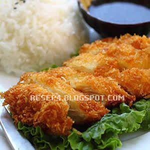 Resep Ayam Katsu Resep Ayam Resep Masakan Jepang Resep Masakan