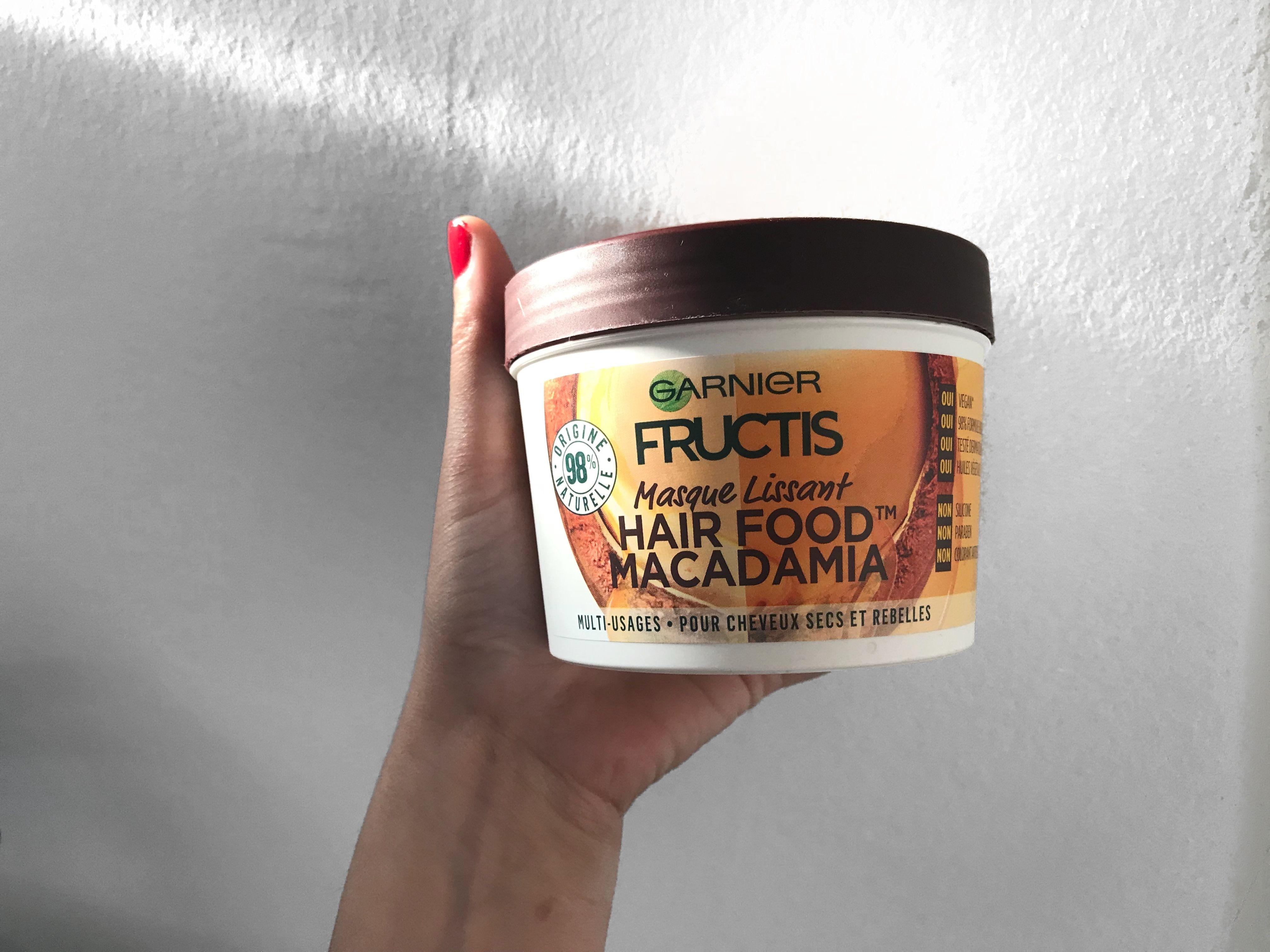 Natural Hair Food Macadamia Masque Cheveux Coiffure Cheveux Naturels Cheveux Naturels