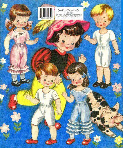 Dolls from Storyland 1948 c Saalfield - Bobe Green - Picasa Albums Web