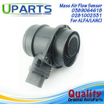 UPARTS Brand New,OEM Quality Mass Air Flow Meter MAF Sensor For Audi A3/Ford Cortina/Seat Ibiza/Vw Jetta/038906461B/06A906461N