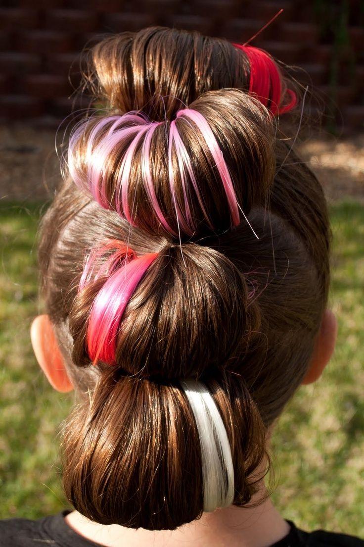 Rockstar Hair For Little Girl Halloween Rock Star Hair Crazy Hair Days Crazy Hair