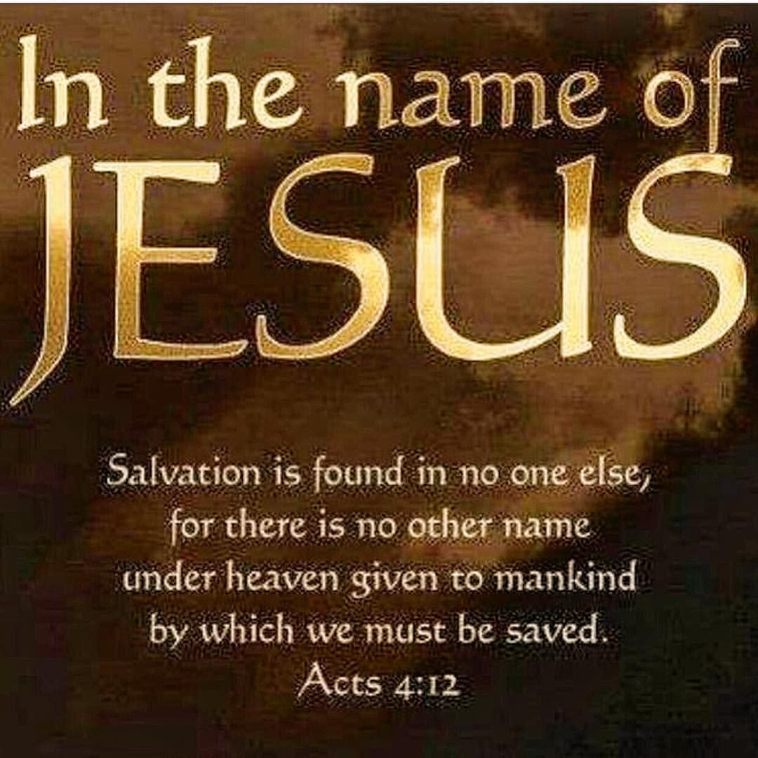 Image result for Acts 4:12 catholic